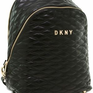 Dkny Quilted Black Extra Large Travel Backpack